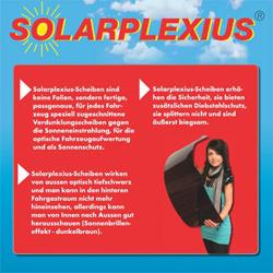 Solarplexius Sonnenschutz